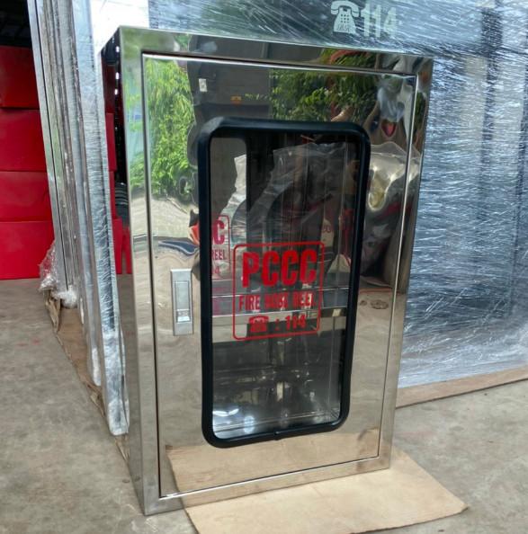 Hộp đựng cuộn vòi chữa cháy inox 304