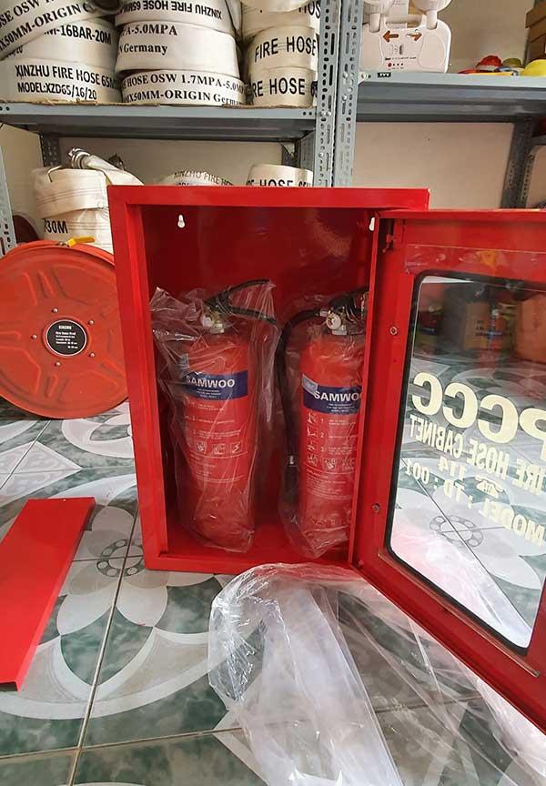 Tủ đựng bình chữa cháy 1 cửa
