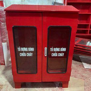 Tủ đựng bình chữa cháy 2 cửa
