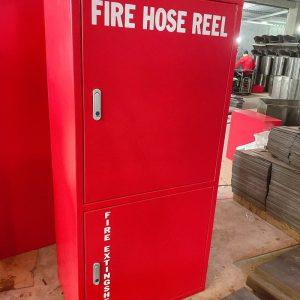 Tủ đựng cuộn vòi chữa cháy 2 ngăn lớn